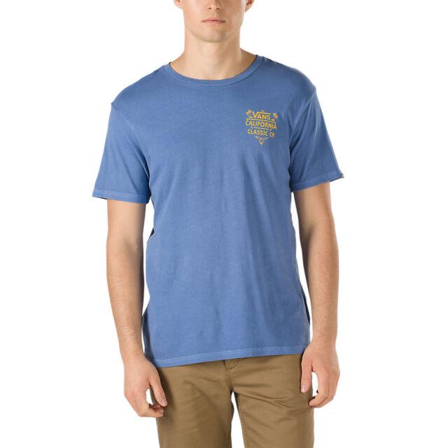6878fc86eb VANS off The Wall (cali Classic Co) Tee T Shirt Blue Delft Sz Mens Small S