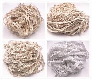 5Y-Diverse-Vintage-Cotton-lace-Crochet-Trim-Wedding-Bridal-Ribbon-Sewing