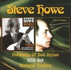 Portraits of Bob Dylan/Natural Timbre by Steve Howe (CD, 2009, 2 Discs, Spitfire Records (USA))