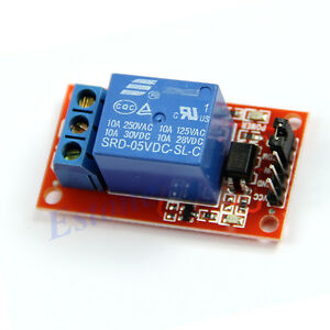 New-Triger-Optocoupler-Relay-Module-for-Arduino-5V-1-Channel-H-L-Level