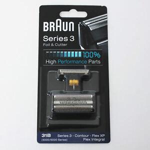 BRAUN-Mens-Shaver-Foil-and-Cutter-31B-5000-6000-Series3-Contour-Flex-XP-Integral