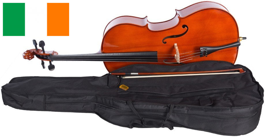 Cello 4 4 M-tunes No.100 wood - for learners