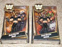 2 Rare MOC Sealed WWE Road Warriors Legends Mattel 2010 Animal & Hawk LOD WWF !
