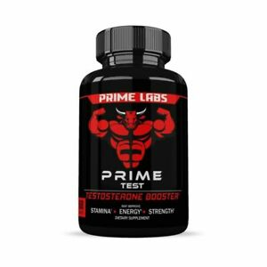 Prime Labs Testosterone Booster Caplets for Men - 60 Count