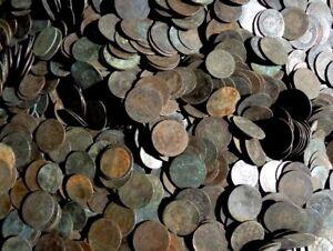 Lote-20-Monedas-antiguas-de-cobre-Gobierno-provisional-y-Alfonso-XII-Espana