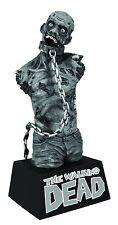WALKING DEAD BUST BANK ZOMBIE PET B&W DIAMOND SELECT 9 INCHES TALL #sapr17-19
