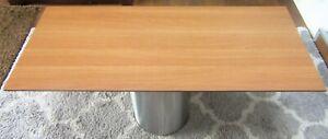 HPL Platte Tischplatte 8mm Italian Walnut beidseitig 1290x538 mm TRESPA® Meteon®