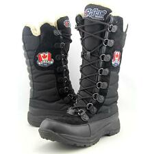 Pajar Greenville HI LUP BT Women US 8 Black Snow Boot Pre Owned  1215