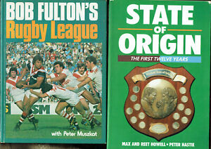 1-JOB-LOT-OF-FOUR-4-RUGBY-LEAGUE-BOOKS