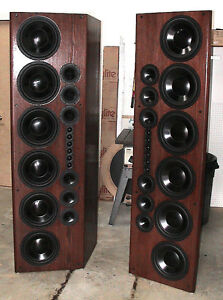 High End Speakers >> High End Home Theater Stereo Front Main Loudspeakers Speakers Built