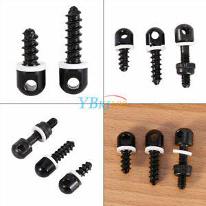 3Pcs-Black-Sling-Screw-Studs-Base-Swivel-Tool-For-Most-Rifle-Shotgun-Hunting-TD