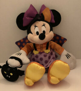 Disney Halloween Minnie Mouse Bat Plush 15/""