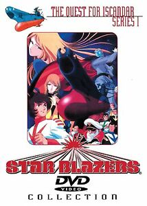 Star-Blazers-Series-1-Quest-for-Iscandar-6-DVD-Bundle-Pack-Collection-Voyager