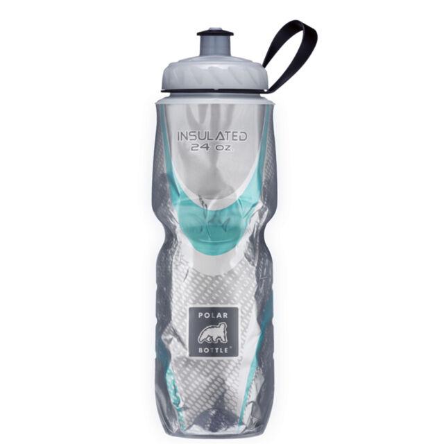 Polar Bottle 24oz Insulated Water Drink Bottle - BPA FREE - SPIN STEEL 0019