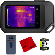 Flir C5 Compact Thermal Imaging Camera With Wifi Extended Warranty Bundle