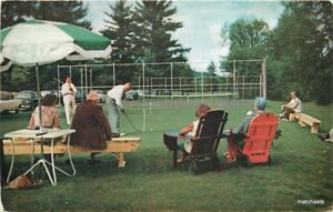 1950s-Golf-Forest-Hills-Hotel-Franconia-New-Hampshire-Courier-postcard-11655