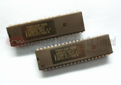 INTEL P8051AHP P8051AH 8051 8BIT MPU MCU DIP40 x 1pc