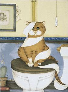 Linda-Jane-Smith-ALL-TIED-UP-Kittens-Cats-Cute-Feline