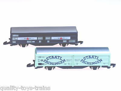 82152 Marklin Z-scale DB German freight car set