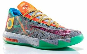 Nike KD 6 VI PRM What The Size 9.5. 669809-500 jordan kobe GSW Warriors