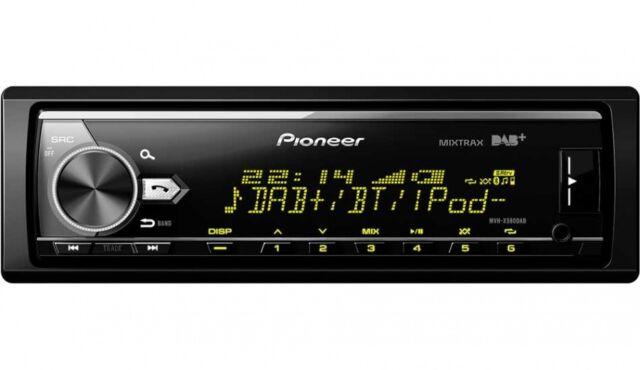 Pioneer MVH-X580DAB - Autoradio mit Bluetooth, DAB+ (ohne Laufwerk)