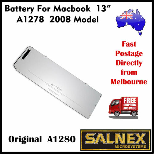 "Genuine Battery A1280 for Apple MacBook Pro 13/"" A1278-2008 Model Only"