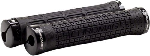 Black New Chromag Clutch Grips