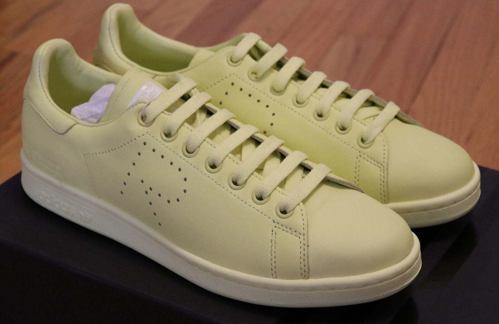Raf Simons x Adidas Stan Smith Yellow Sneakers Brand New in Box Size 7.5 8