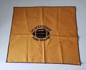 31612b079 Image is loading Pittsburgh-Steelers-Go-Ford-Dealers-Vintage-Terrible-Towel-