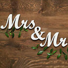 Creative Simple MR & MRS Letters Banquet Wedding Decor Sign Props Supplies
