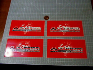 X4-WARRIOR-SKATEBOARDS-STICKERS-DECALS-SKATE-LAPTOP-LUGGAGE-PHONE-ORIGINAL-NOS