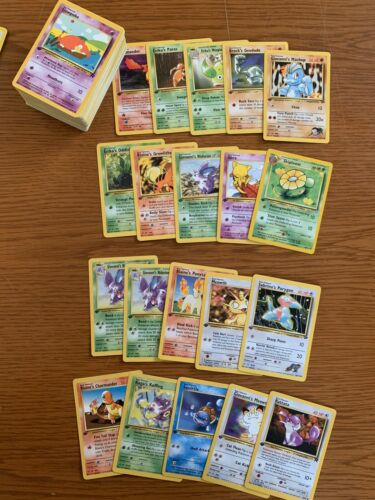 POKEMON CARD LOT WOTC GUARANTEED 1st Edition Holographic From Card Base Set-NEO
