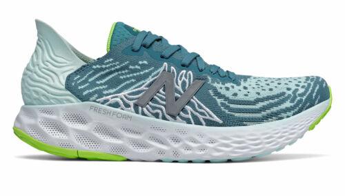 New Balance Women/'s Fresh Foam 1080v10 Running Shoes Green//White