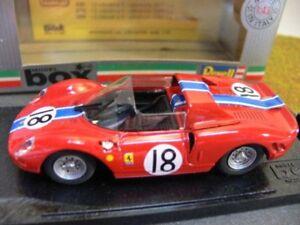 1/43 Box Ferrari P/2 Le Mans 1965 #18 8449-afficher Le Titre D'origine
