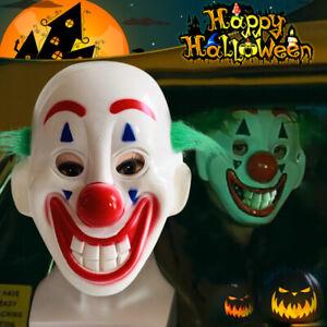 Details about 2019 Cosplay DC Movie Joker Arthur Fleck Mask Clown  Masquerade Halloween Mask