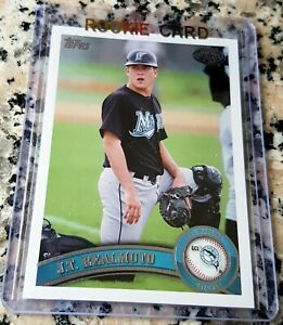 J-T-REALMUTO-2011-Topps-Rookie-Card-RC-Philadelphia-Phillies-AS-HOT
