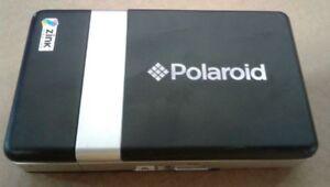 Polaroid-CZA-10011B-PoGo-Instant-Printer-Zink-Zero-Ink-UNTESTED-No-Battery