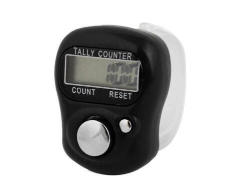 DIGITAL FINGER RING TALLY COUNTER HAND HELD KNITTING ROW COUNTER CLICKER TASBEEH