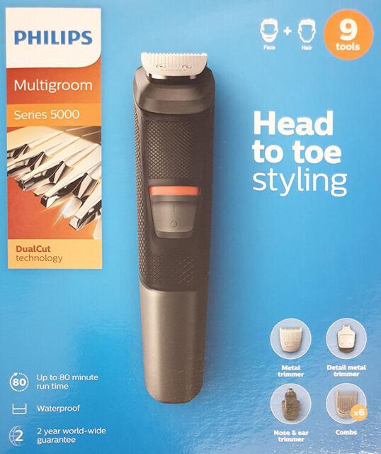 PHILIPS Haarschneider Series 5000 Kurzhaarschneider Haarschneider Bartschneider