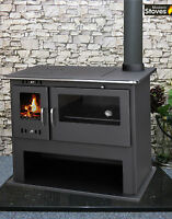Wood Burning Range Stove Oven Cooker Multi Fuel Milan, Wood Stove Modern Stoves