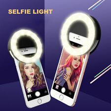 Portátil LED luz de flash para Selfie Cámara Fotografía anillo de luz para iPhone Samsung