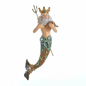 King-Neptune-Nautical-Christmas-Holiday-Ornament-Resin