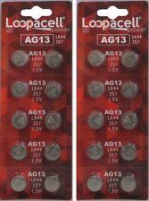 LR44 BATTERY (20 piece) LR44 357 A76 L1154 AG13 357  Alkaline Loopacell Battery