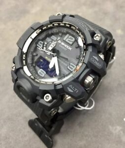 2018 New Color All Blk CASIO G-Shock GWG1000-1A1 MudMaster MultiBand 6 Solar !