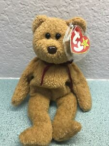 25cfe746225 Image is loading TY-BEANIE-BABY-034-CURLY-034-BEAR-RETIRED-
