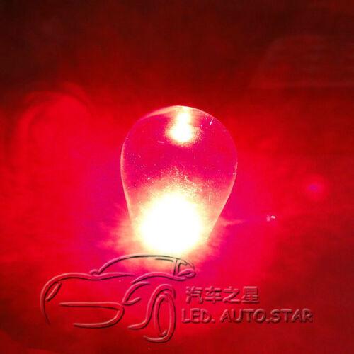 2 x 1157 BAY15D 380 Xenon 5W 1 CREE Q5 LED Brake Light Reverse Turn Signal Light