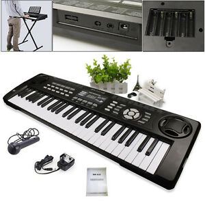 54-Keys-Multifunctional-LED-Screen-Digital-Electronic-Keyboard-Electric-Organ-UK