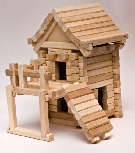 Holzbausteine Domino Holz Bausteine Bauklötze Holzklötze Dominosteine Buche NEU