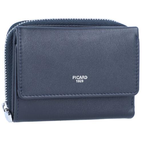 Picard Bingo Geldbörse Geldbeutel Damen Leder 10 cm ozean