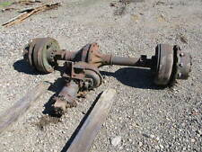 Rockwell Planetary Axle Rigid Rear for Off Road Equipment with Hydrualic Drive